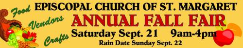 Fall Fair 2019 Banner